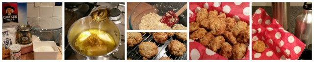 Anzac biscuits - ingredients and cooking process