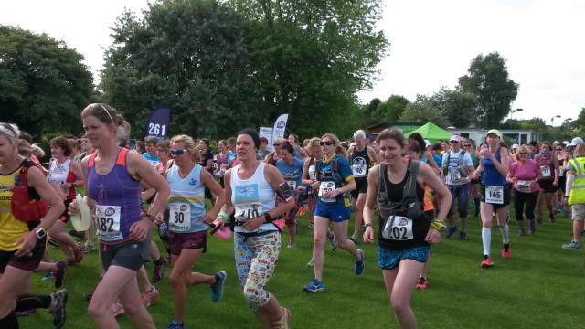 Start of women can marathon