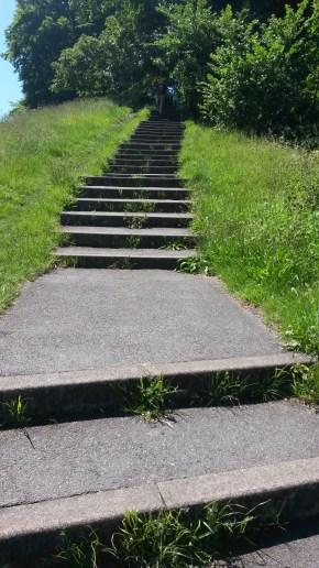Stair running in Greenwich Park