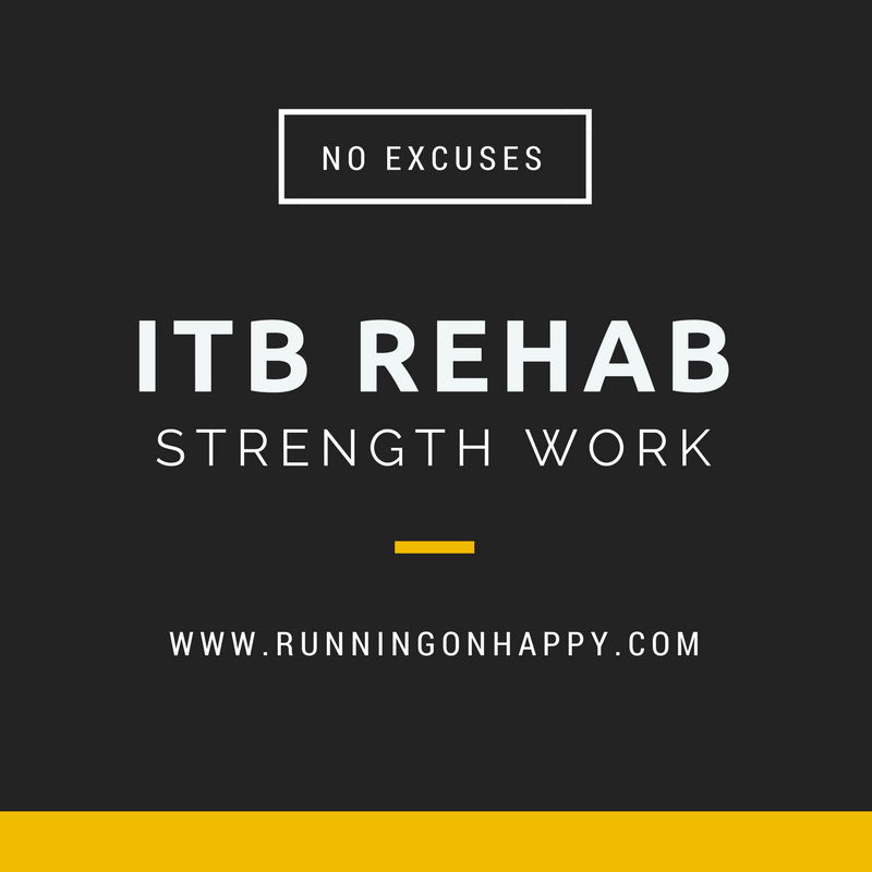 Iliotibial Band Syndrome Rehab   Running on Happy