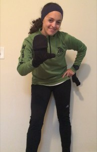 Staying Warm While Running in the Cold   Pictorial How To   Running Coaches' Corner   Running on Happy