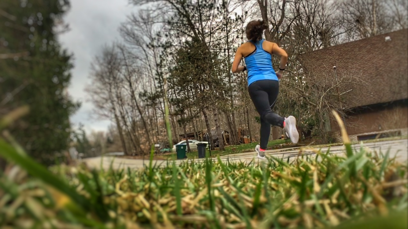 I love when the stars align and the perfect running weather creates the best possible conditions for stellar running. When this happens it makes training seem almost effortless and tons of fun. -Running on Happy