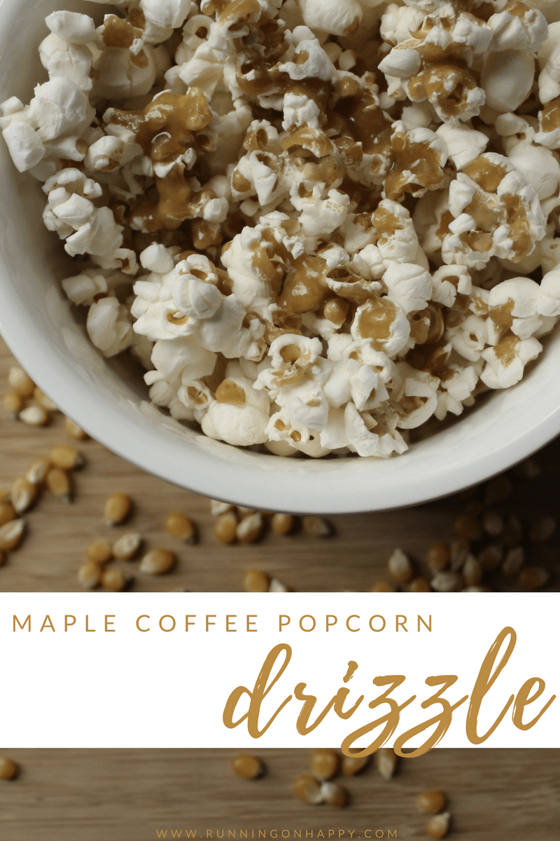 Using only the purest of maple syrups, maple coffee popcorn drizzle is perfect to lightly sweeten a traditionally salty snack. It can also be used in smoothies, as a Greek yogurt mix-in, as well as with granola or as a dessert topping. It's versatile and delicious.