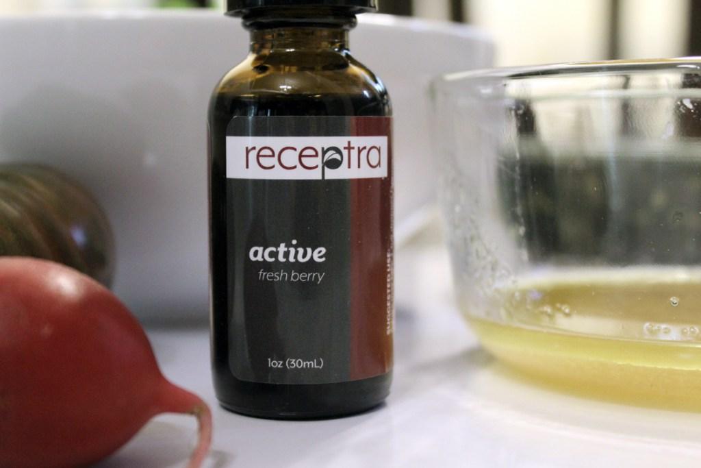 Berry Hemp Vinaigrette with Receptra Naturals | Running on Happy