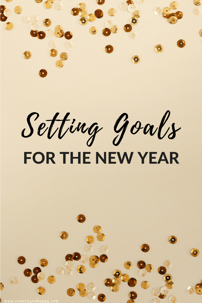 Setting goals for the New Year will keep you on track and moving forward in all facets of life.