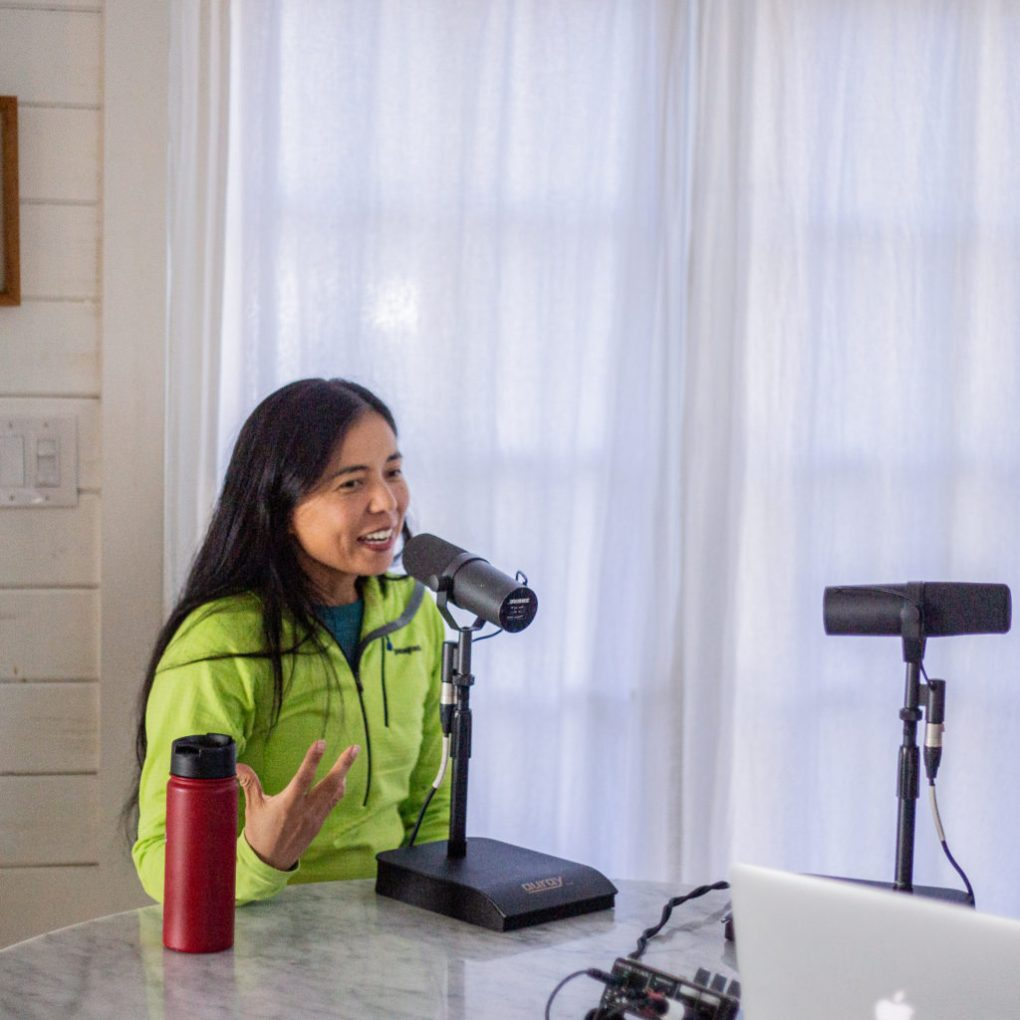 Jenny Jurek on The Running On Om Podcast