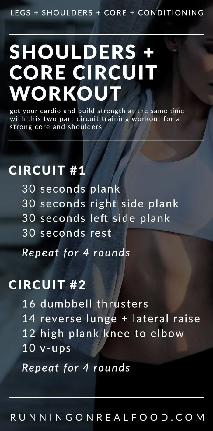 Shoulders and Core Strength Circuit Workout