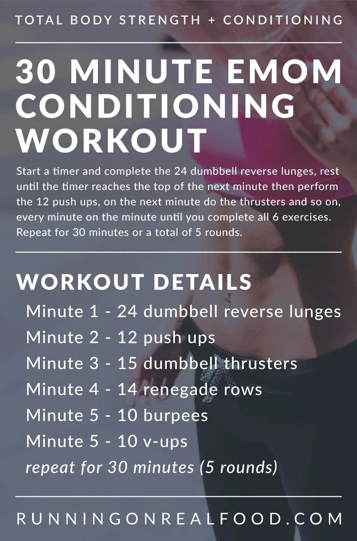 30 Minute Crossfit Workout