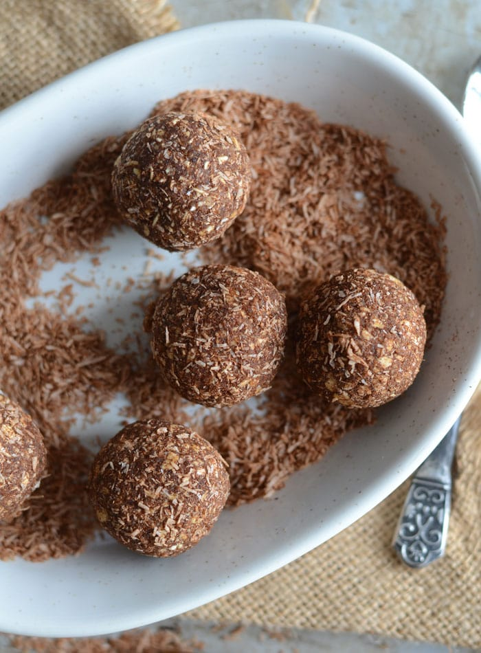 Fat-Free Cinnamon Energy Balls