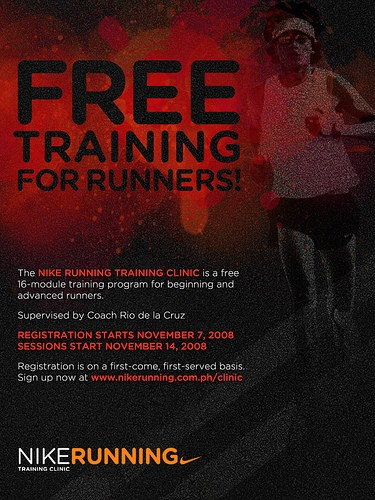 Free training for runners