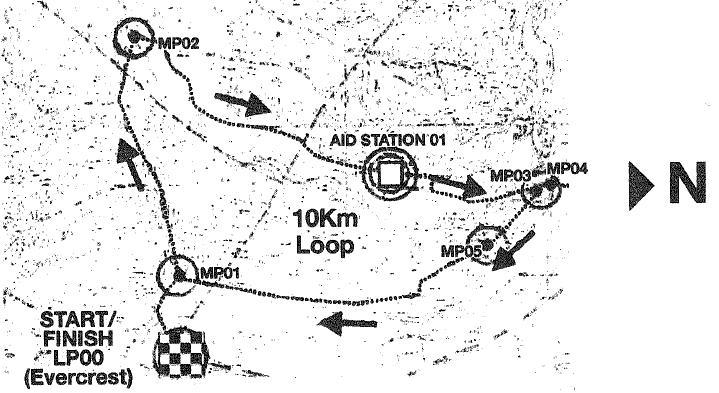 TNF Trail Map