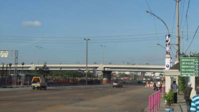 That flyover in Roxas Blvd. marked the end of EDSA