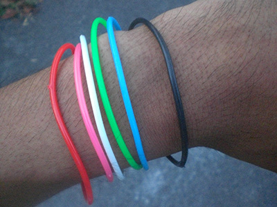 Bracelet collections as I head back to base camp