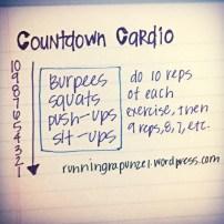 Countdown Cardio