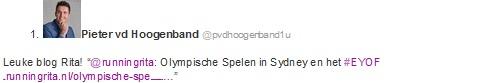 Pieter tweet