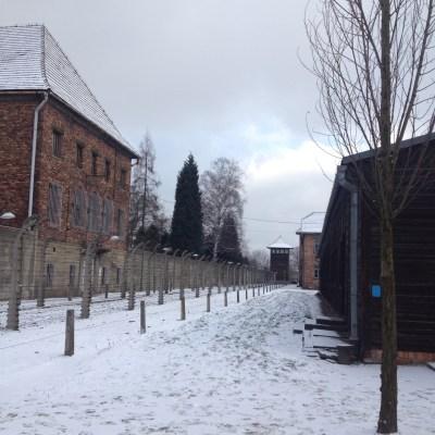 Auschwitz buitenkant