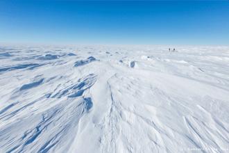 Le pôle Sud n'est plus très loin et la température ressentie chute encore, pour atteindre -50°C.