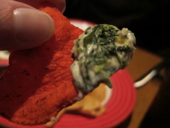 11.13 TGIF spinach dip