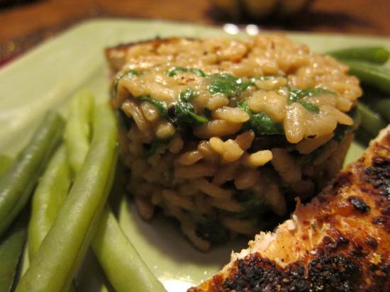 11.18 spinach risotto 2