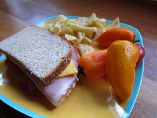 11.24 Salami and Ham Sandwich