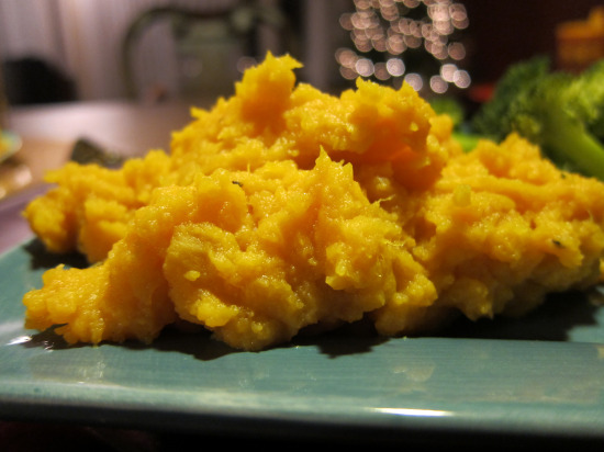 11.30 mashed sweet potatoes