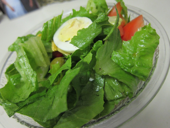 12.1 Salad with egg