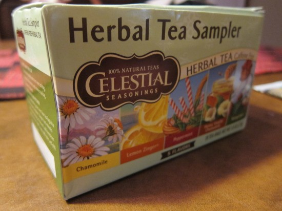 12.20 Celestial Seasonings Sampler