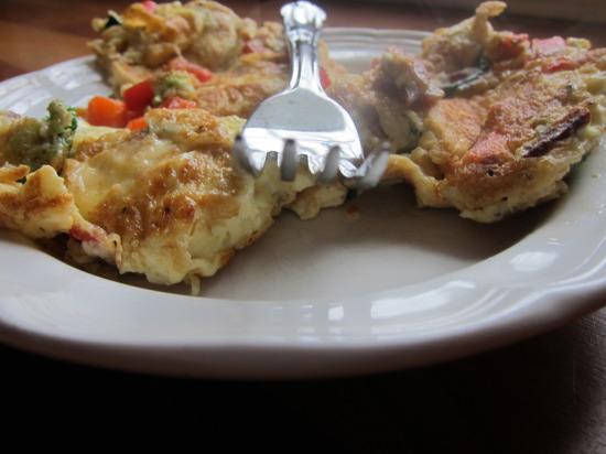 12.25 Christmas omelette