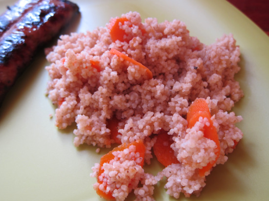 12.4 Couscous with carrots