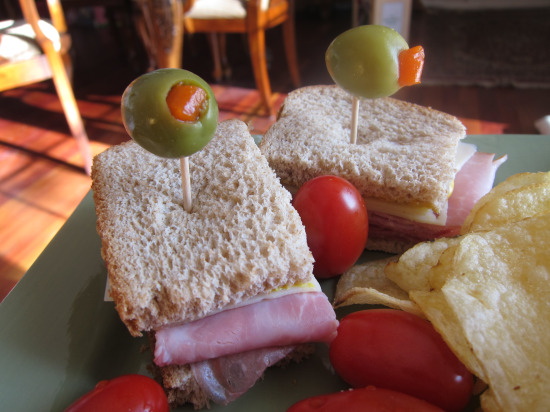 1.2 Salami Sandwich with Olives 1