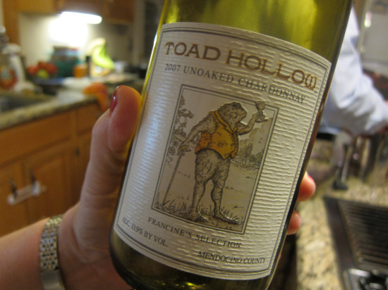 12.31 Toad Hollow Chardonnay