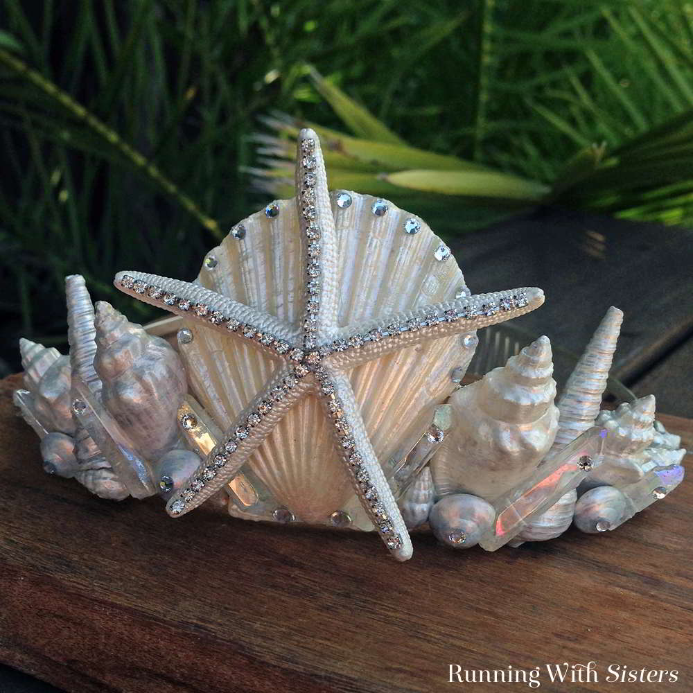 How To Make A Seashell Mermaid Crown Running With Sisters