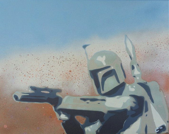 """Boba Fett"" - Spray Paint"