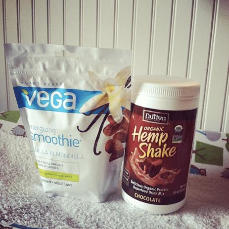 Vitacost Vega and Nutiva