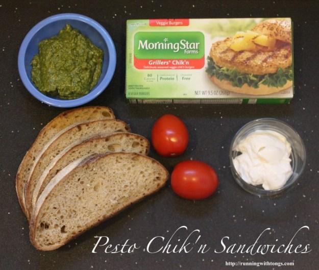 MorningStar Farms - Pesto Chik'n Sandwiches - Meatless Monday