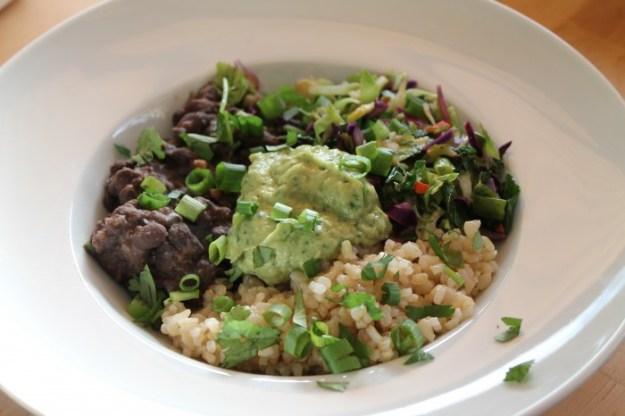 Weekly Eats- Burrito Bowl
