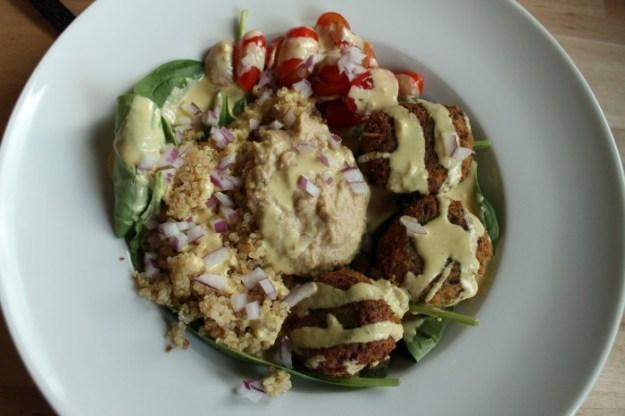 Weekly Eats- Falafel Bowl