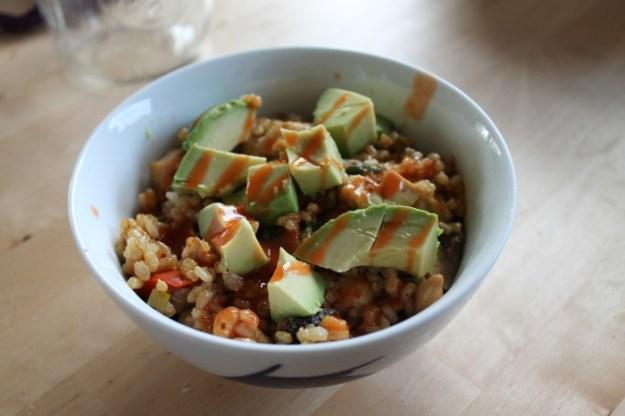 Weekly Eats - Leftover Cashew Tofu
