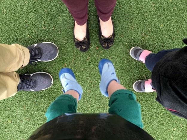 Portland Area Parks - Dawson Park - Family Feet