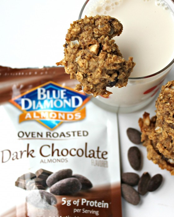 WIAW | Vegan Lactation Cookies | Featuring Blue Diamond Almonds