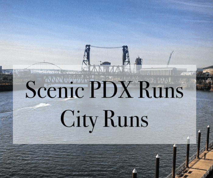 scenic pdx runs city