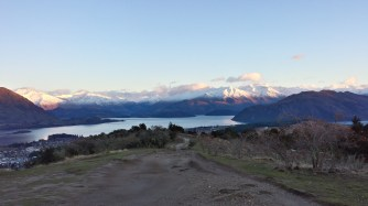 Looking over Lake Wanaka