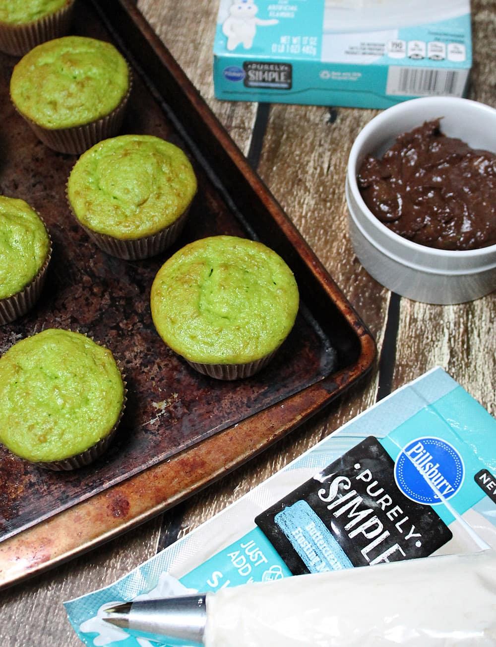Green Smoothie Cupcakes Recipes — Dishmaps