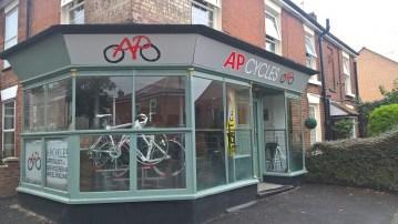 AP Cycles shop front