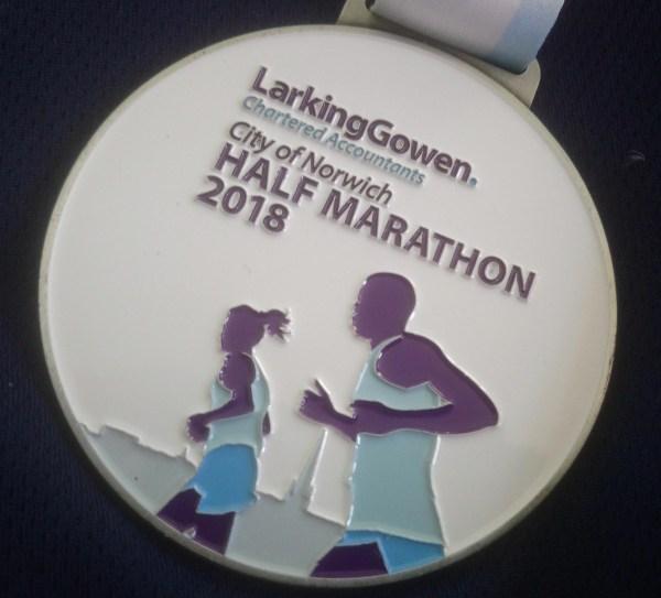 Norwich Half Marathon 2018