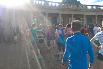 How many of these parkrunners are rotating their running shoes? Answer: no idea!