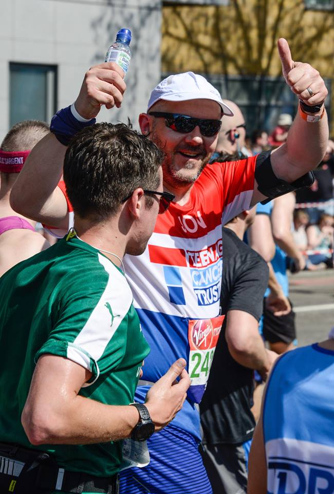 Guest Post: Jon Welch reveals how he had to dig deep to finish the London Marathon after injury struck