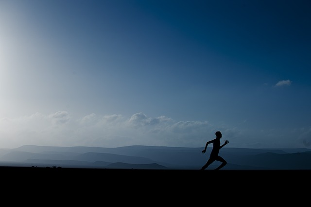 Does running help you clear your mind?