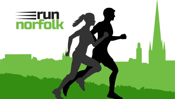 Introducing the new Runnorfolk logo designed by Annette Hudson graphic journalist