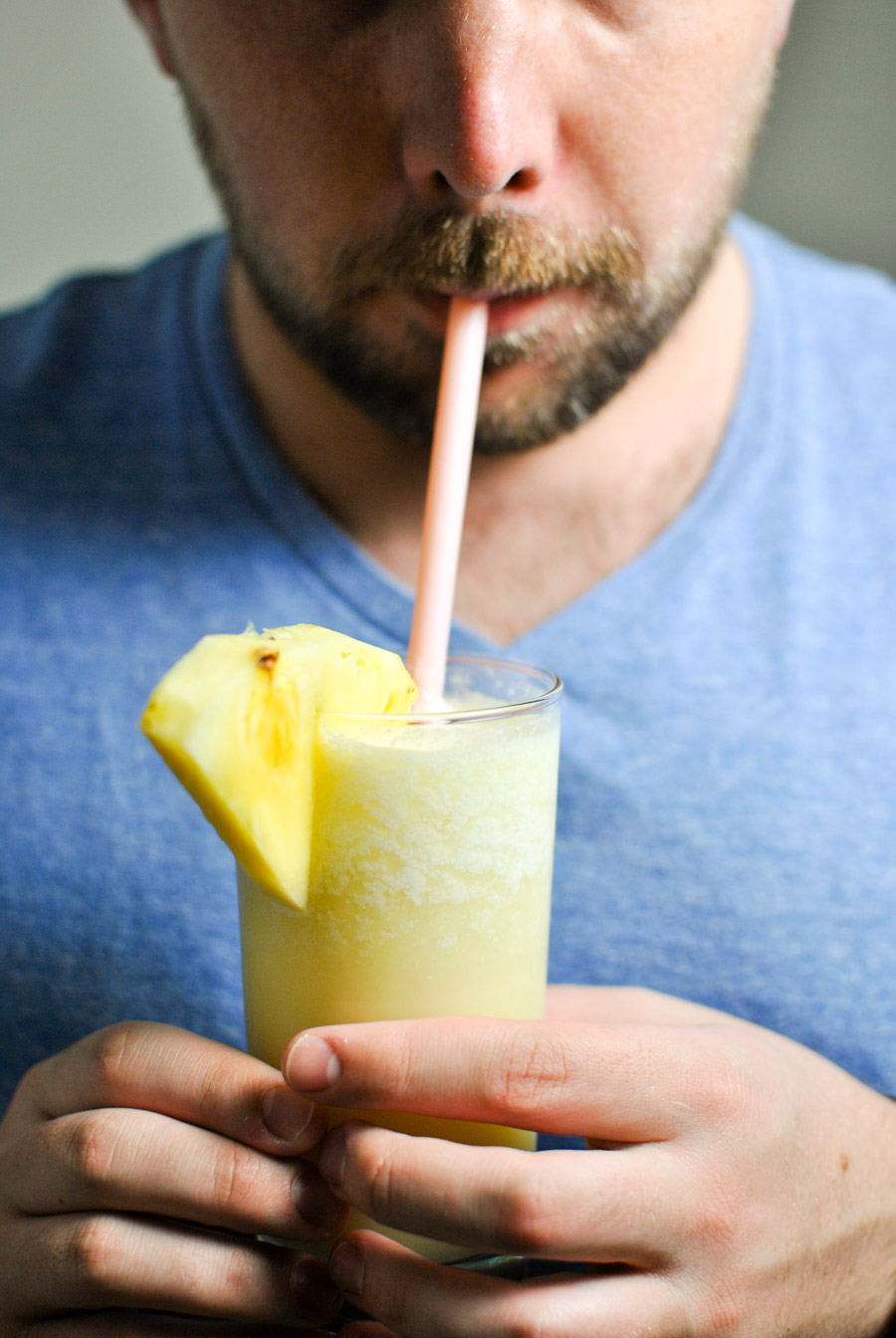 theese Broiled Pineapple Piña Coladas are the sweetest summer drink you'll need!   thepikeplacekitchen.com